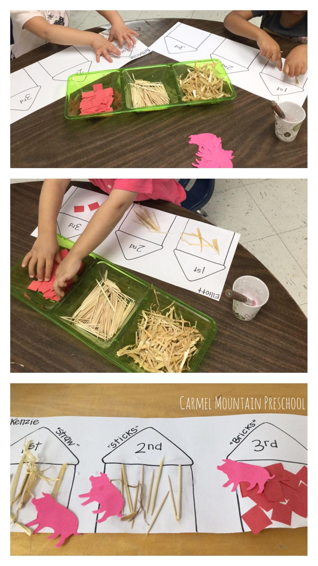 Three Little Pigs Activity Fairy Tales Preschool Nursery Rhymes Preschool Nursery Activities [ 1936 x 1089 Pixel ]
