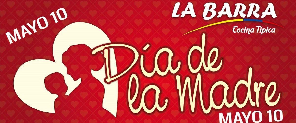 Preparate desde !! YA !! Mamas, Abuelas, Tias DIA DE LA MADRE - Mayo 10 - www.laBarraRestaurante.com #Cali http://ow.ly/LsTCV