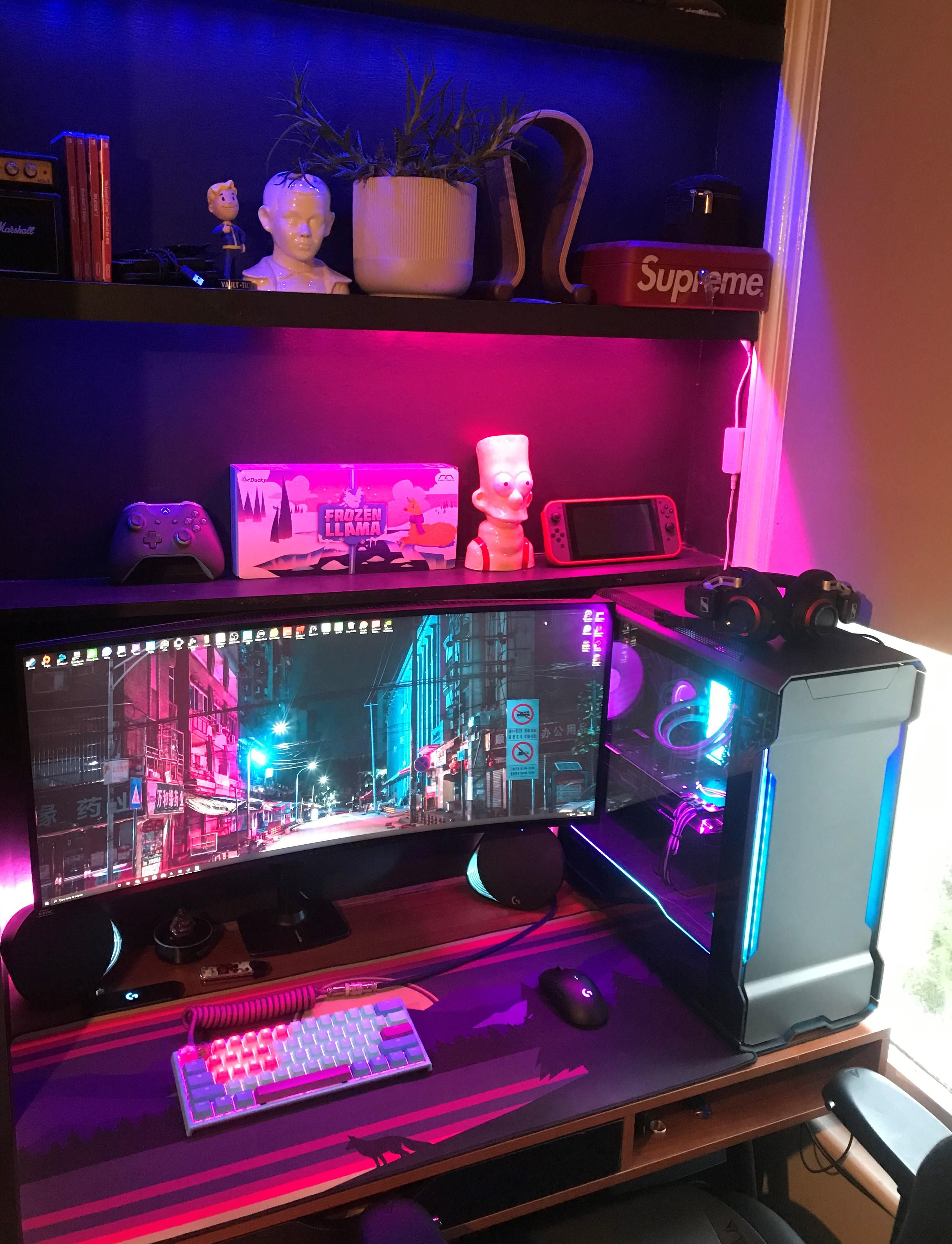 Pin by Minimalspirations on Desk Setups in 2020 Gaming