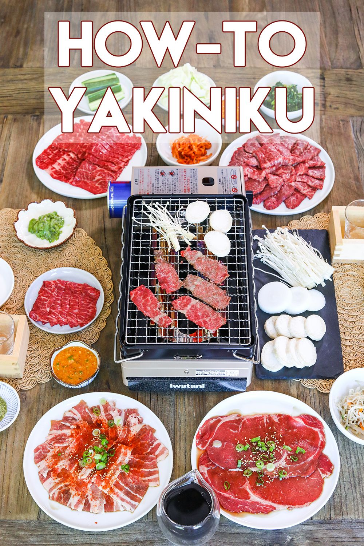 Yakiniku At Home Japanes Style Korean Bbq Recipe Food Recipes