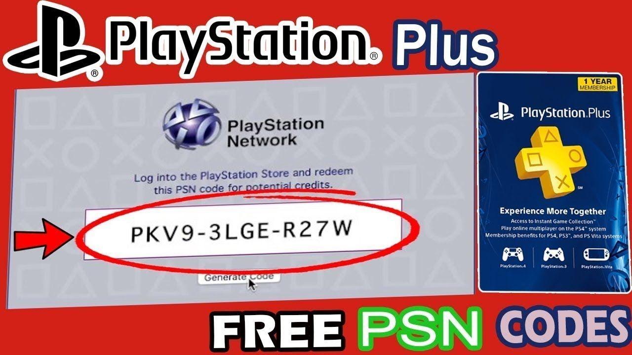 Free Psn Codes How To Get Free Psn Codes Psn Free Codes Free Codes Ps4 Gift Card Gift Card Coding