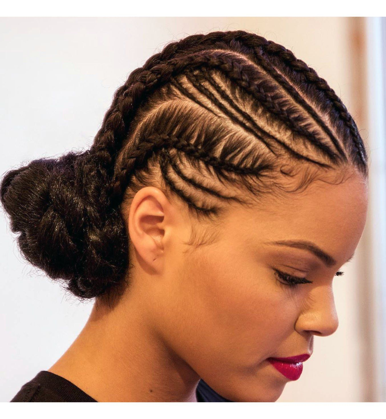 Coiffure Africaine Braid Les 10 Plus Belles Cornrows Braids Hair Braids For