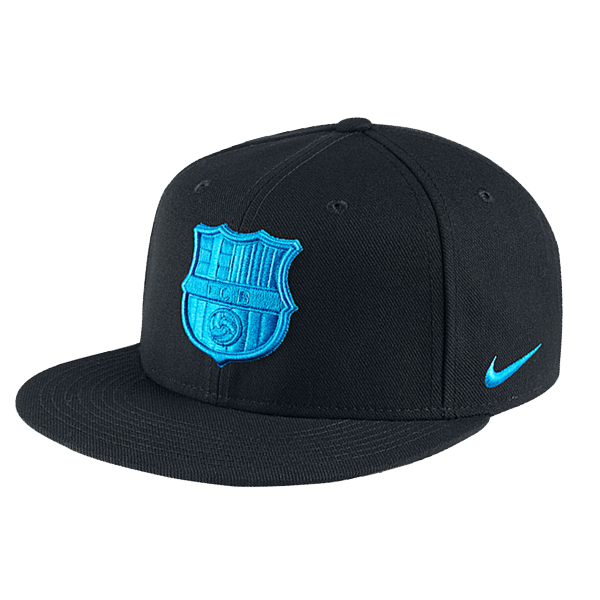 5a6c1b43f84 Nike Barcelona True Cap (Black Blue). Find this Pin and more on snapback ...