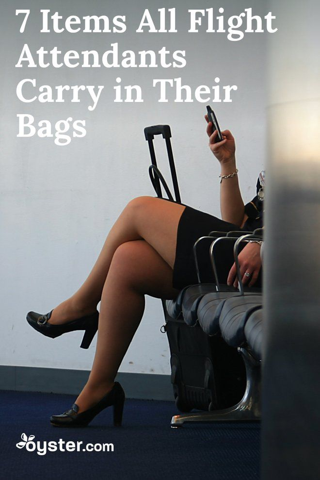7 Items All Flight Attendants Carry In Their Bags Travel