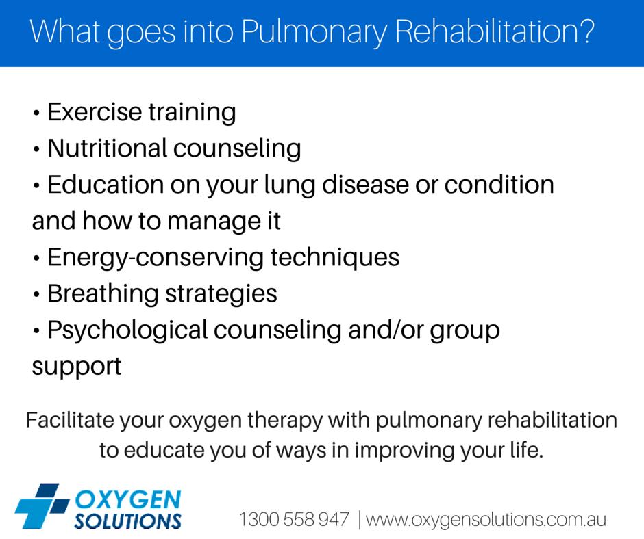 Pulmonary Rehabilitation Is Broad Program That Improves