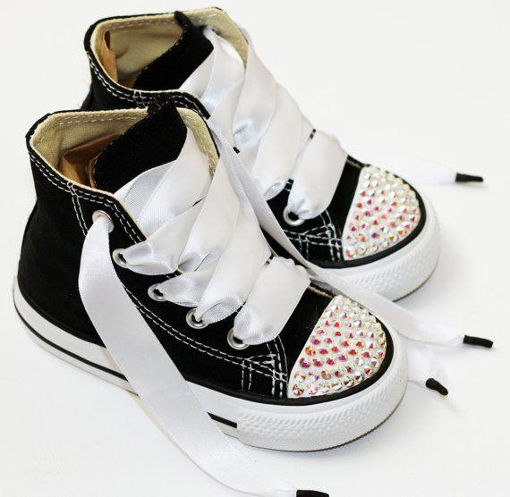 Infant, Toddler Baby Girl Hi-Top Black