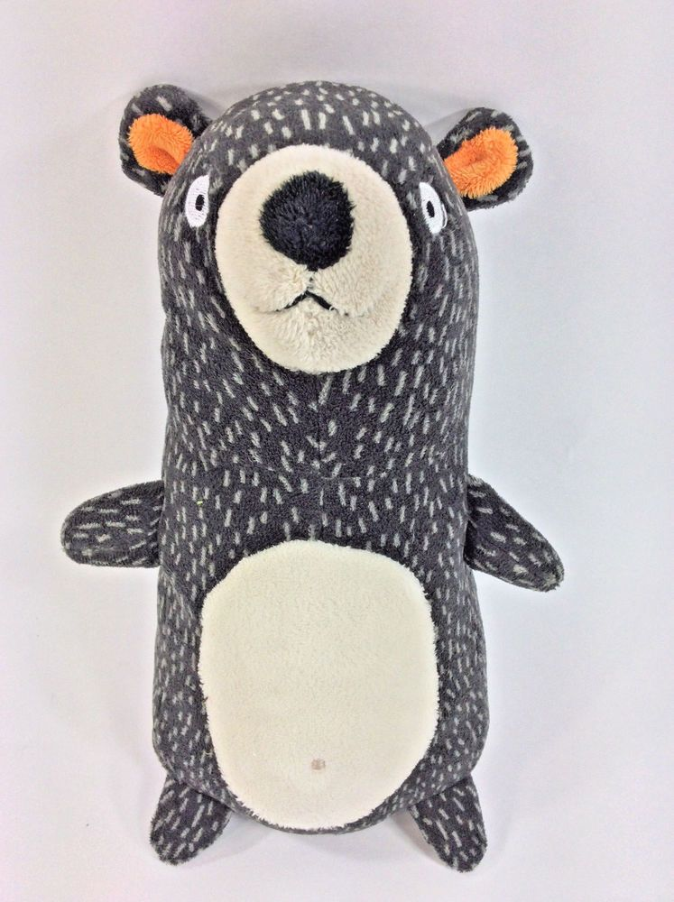 11 Circo Forest Bear Plush Target Grey White Spotted Mini Pillow