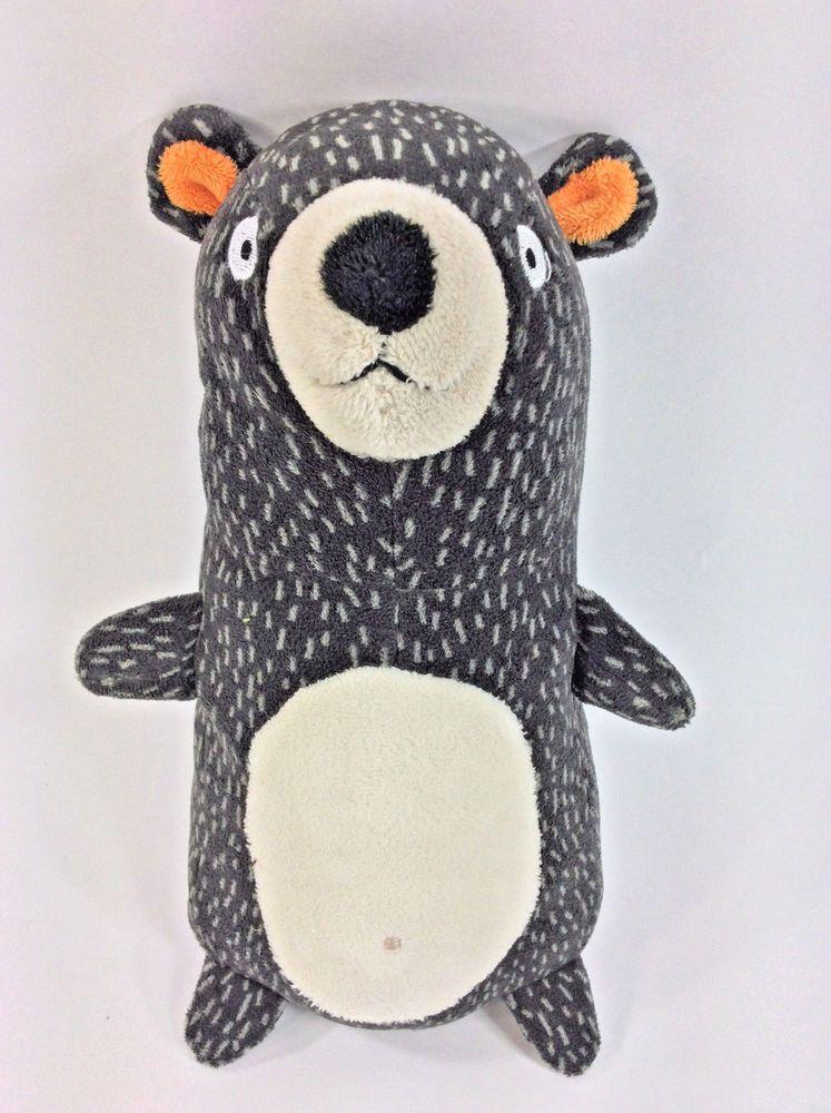 11 Circo Forest Bear Plush Target Grey White Spotted Mini Pillow