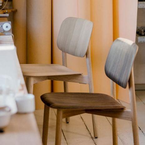 Außergewöhnlich SOFT EDGE Stackable Chair In Wood Or Metal Timber, HAY
