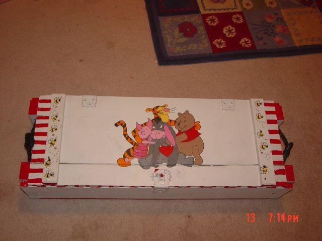Toy box I did