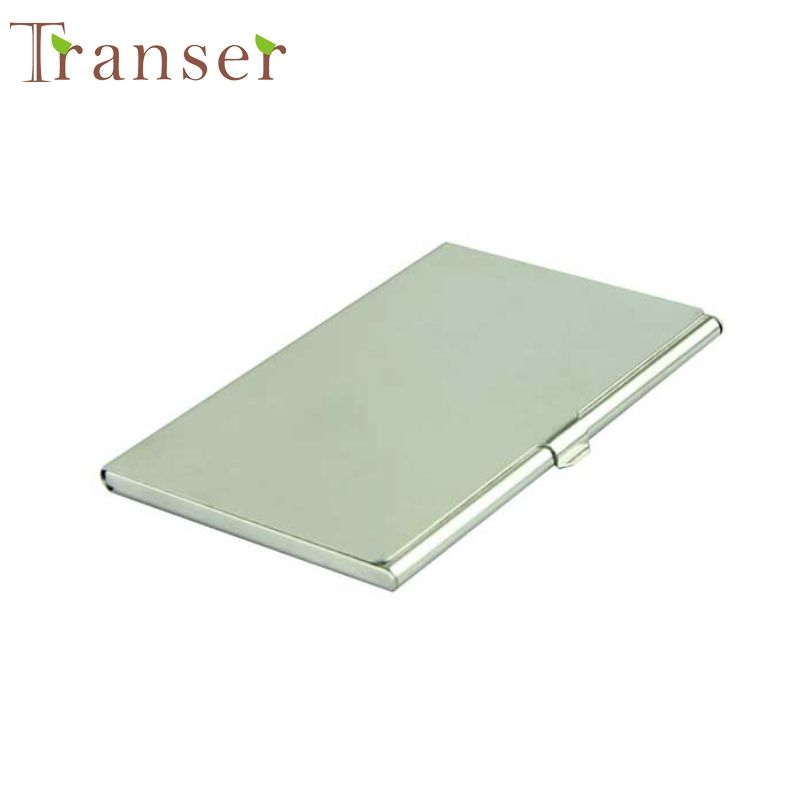 Transer New Fashion Business Credit Card Holder Case New Stainless ...