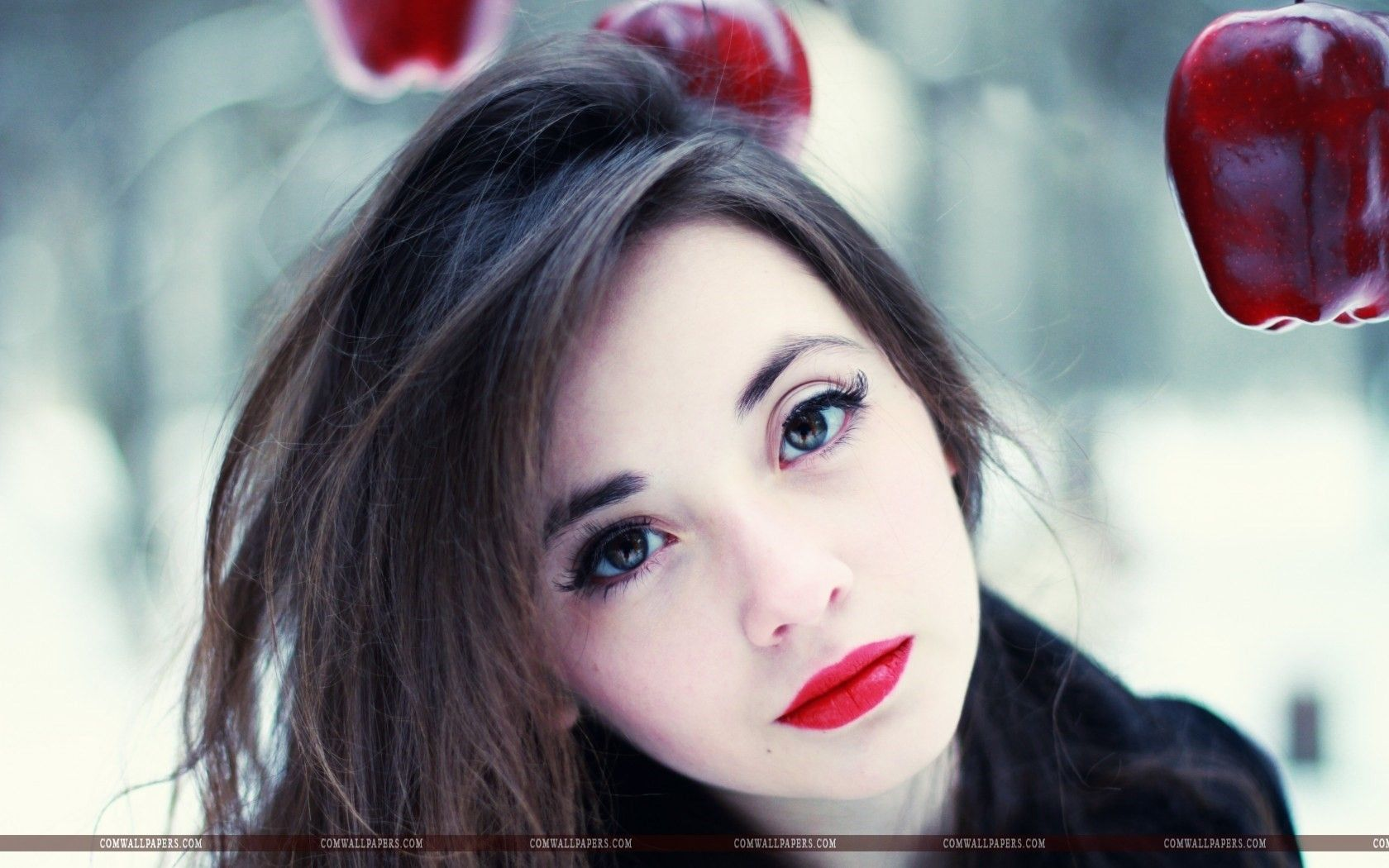 Girl Makeup Red Lips hd Wallpaper Girls HD Wallpapers