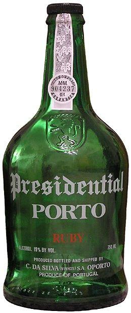Presidential Porto Ruby 750ml Port Wine Porto