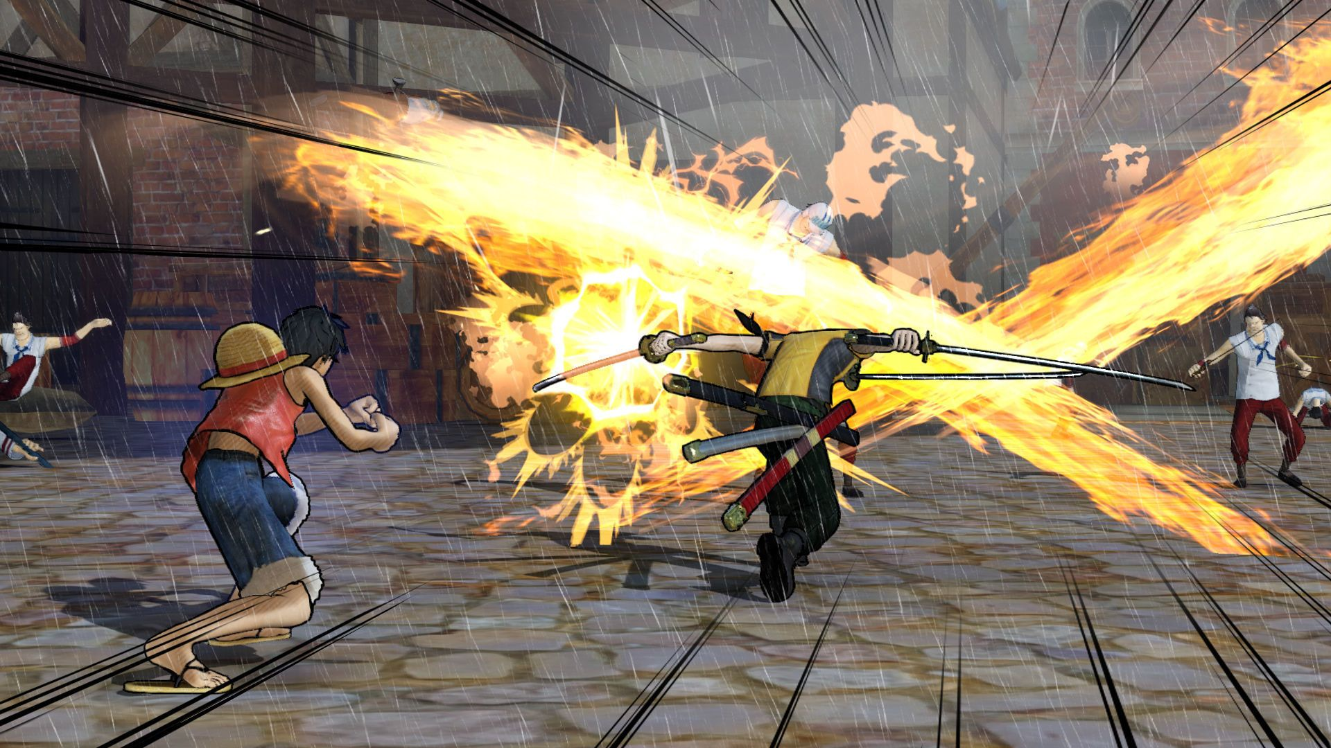 #OnePiece3 #PirateWarriors3 Para más información sobre #videojuegos visita nuestra página web: www.todosobrevideojuegos.com y  síguenos en Twitter: https://twitter.com/TS_Videojuegos