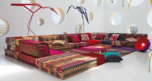 Exklusive Sofas roche bobois sofa mah jong exklusiv münchen szene society