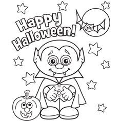 24 free printable halloween coloring pages for kids print them all - Drawings Of Halloween Pictures