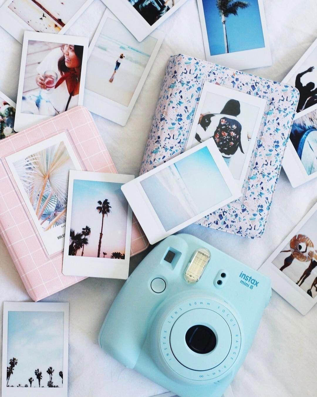 Pink Polaroid Camera Aesthetic
