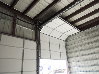 We Supply High Lift Overhead Doors For Large Garages View And Price