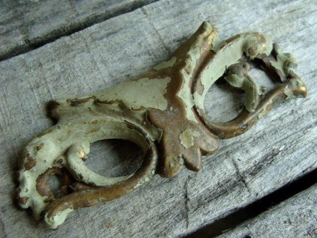 Looks like an owl mask to me. : )  Gorgeous French Antique Hardware Looks like a by reginasstudio, $12.95
