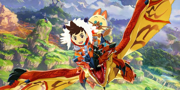 Monster Hunter Stories North American Site Open Screens Art Footage Ride Into Battle With Your Own Team Of Monsters Become Monster Hunter Monster Hunter