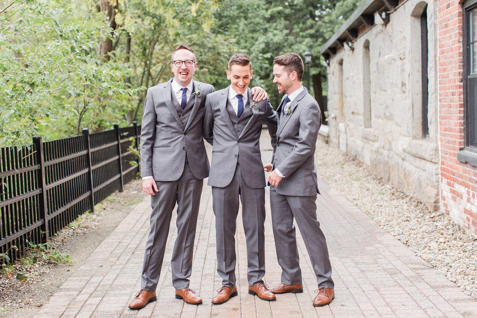 One grey suit, a million different looks Photo by Lauren Dobish ...