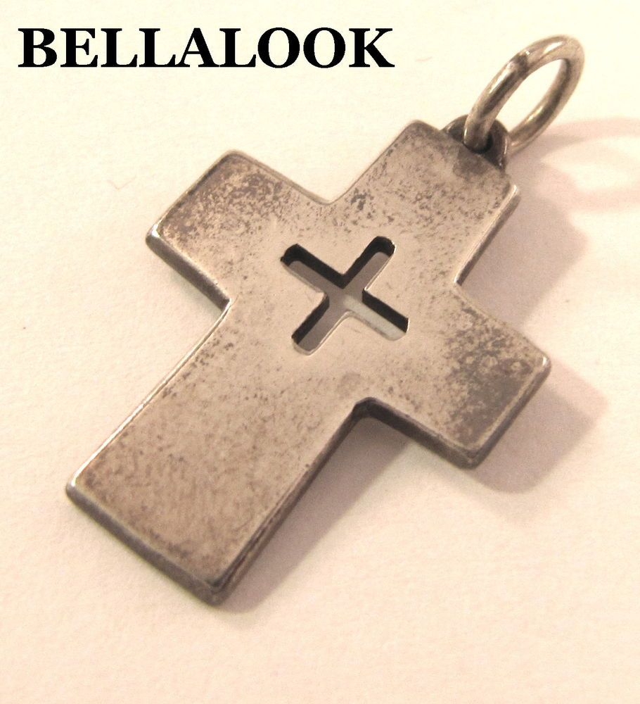 James avery sterling silver mission cross pendant charm retired james avery sterling silver mission cross pendant charm retired aloadofball Choice Image