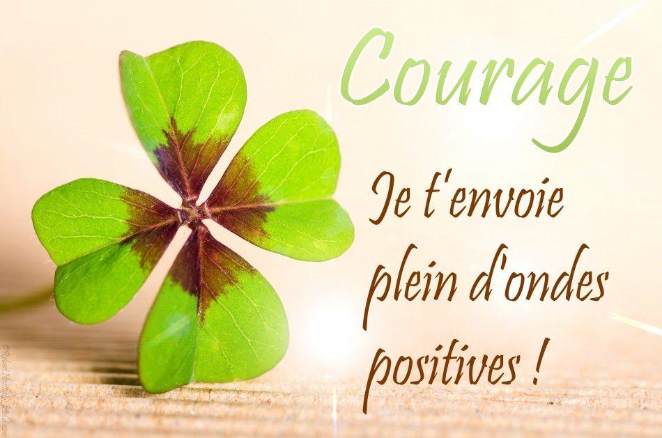 Courage Ondes Positives Citation Citation Courage Et