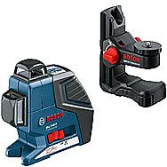 Bosch Gll 2 80 P Self Levelling Line Laser Bm 1 Wall Bracket Gll280p