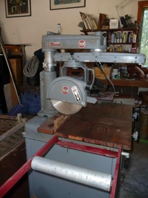 Delta Rockwell 10 Quot Radial Arm Saw Ideas For When I Build
