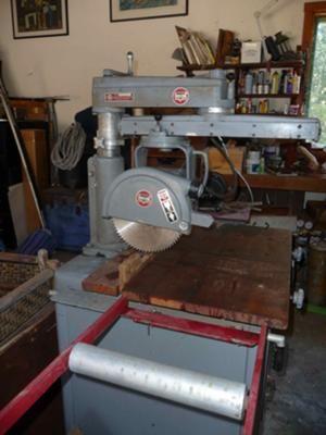 Delta Rockwell Radial Arm Drill Press