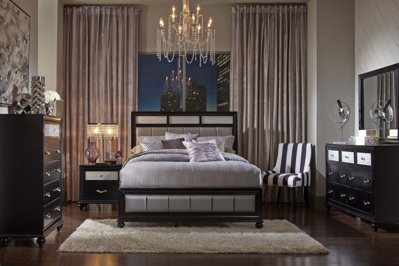 4 Pc Queen Bedroom Set (200891Q)  Retail $1,999