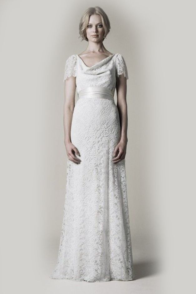 CELINA dress is designed to break the traditional wedding dress. The ...