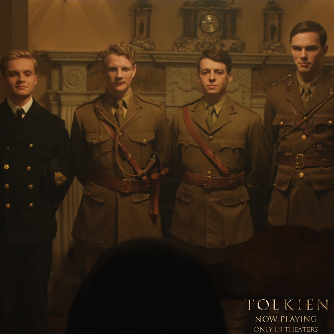 A life of fellowship. #TolkienMovie Now playing in theaters everywhere. #Searchlight