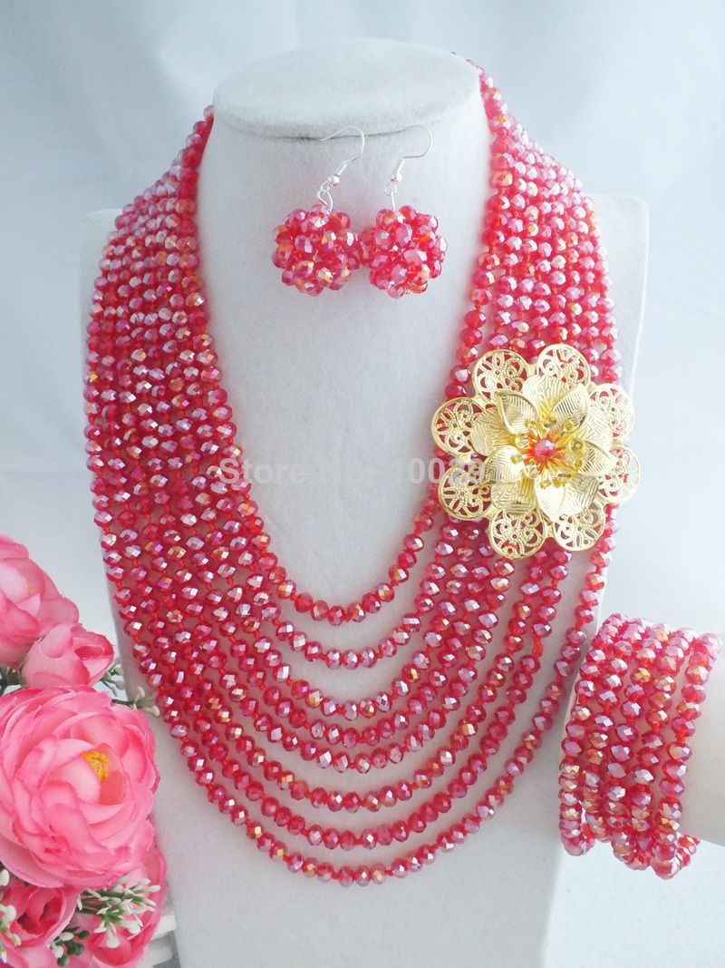 Free Shipping !!! A-1472 Latest Design African Wedding Jewelry Set ...
