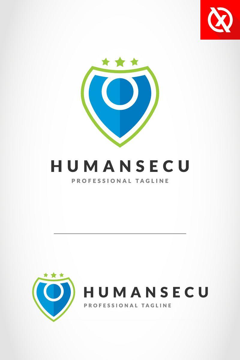 Human Shield Security Logo Template 85774 Security Logo Logo Templates Education Logo
