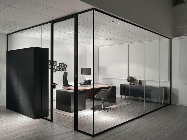 glass office divider partition ideas modern office design room