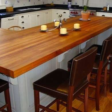 12 Wow Worthy Woods For Kitchen Countertops Wood Countertops Outdoor Kitchen Countertops Kitchen Countertops
