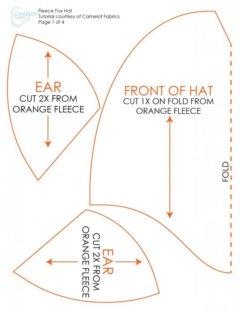 Cómo de A Day: DIY de disfraces de Halloween - Fleece Fox Sombrero y ...