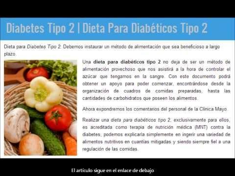 alimentos recomendados para la diabetes tipo 2