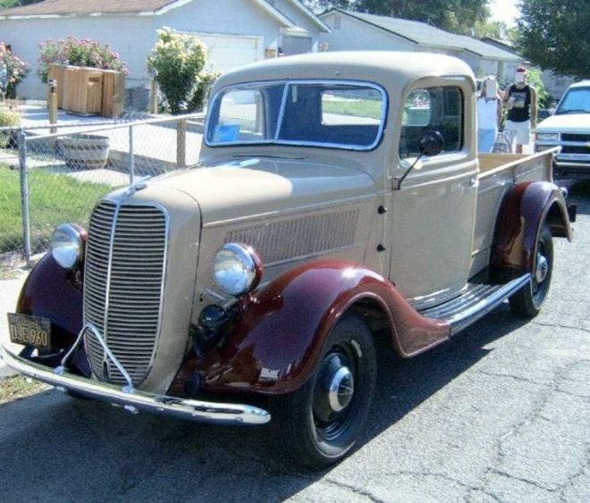 1937 ford pickup fl truck picture old truck pictures vintage ford pickup trucks pinterest. Black Bedroom Furniture Sets. Home Design Ideas