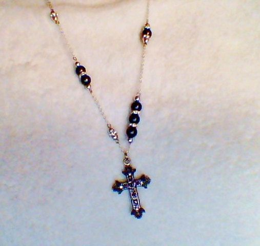 Silver and Black mix by TinaMarieHay on Etsy, $20.00