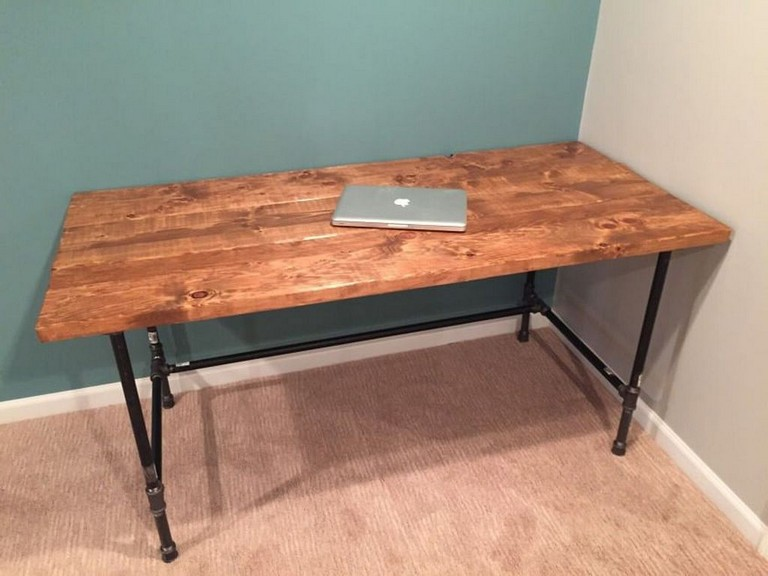 21 Admirable Diy Farmhouse Desk Design Ideas For Office Desk