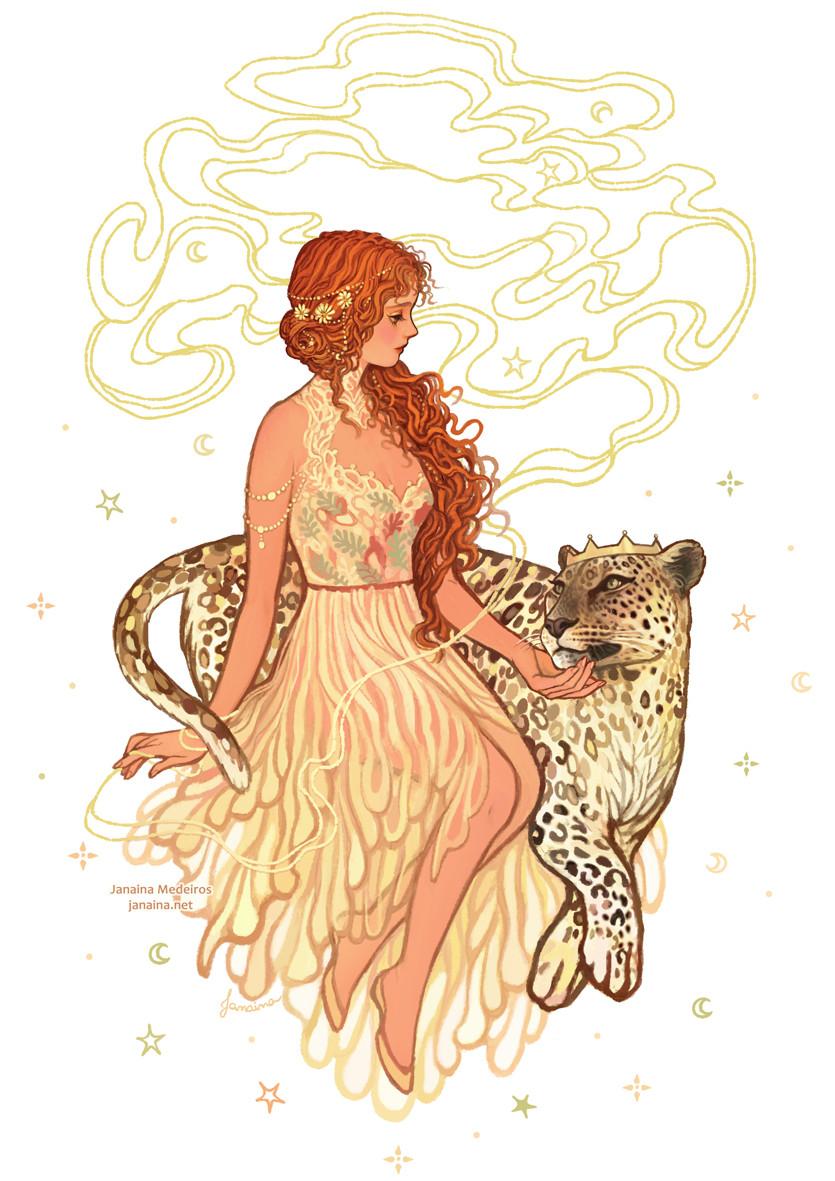 ArtStation - Ariadne & Dionysus, Janaina Medeiros in 2020 ...  Dionysus Drawing