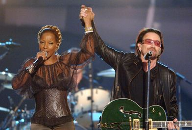 U2 And Mary J Blidge Female Singers Bono Best Songs