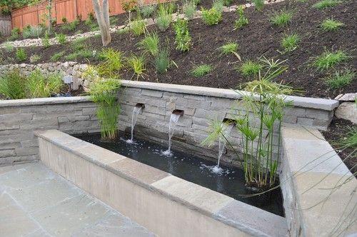 Hawn backyard contemporary patio