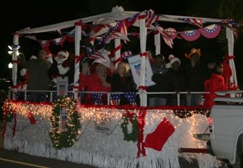 more than 100 floats will march down coleman boulevard as the mount pleasant christmas light parade sets sail to the delight of thousands of residents and - Mount Pleasant Christmas Parade