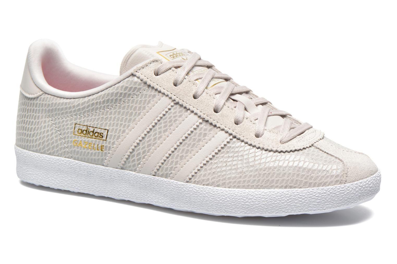 Adidas Originals Gazelle og w (Gris) - Baskets chez Sarenza (230987)