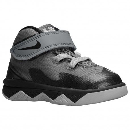 University Nike Soldier Viii Boys' Toddler Shoes James Lebr Cool Grey/Wolf Grey/Black
