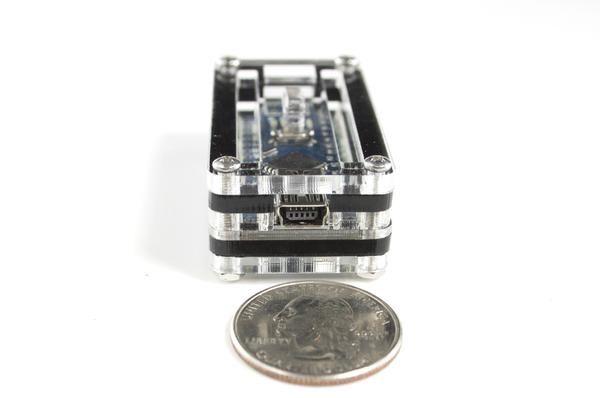 Zebra Classic Case Arduino Nano Black Ice Arduino Black Ice