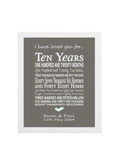 10th Wedding Anniversary Gift Ideas For Him - Tbrb.info
